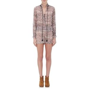 Barneys NY White Floral Romper Only Worn Once!